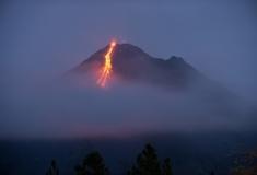 Arenal Erupting Volcano